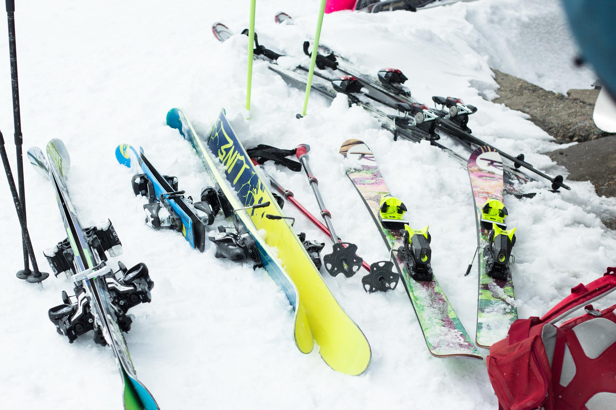 Прокат лыж, Гудаури