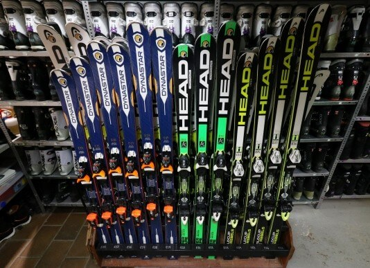 Лыжи в прокате в Сьерра Неваде