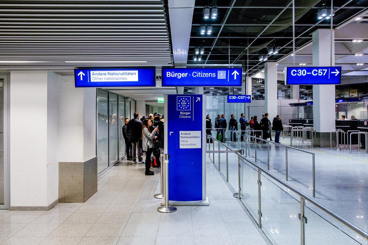 Сервисы в аэропорту Дюссельдорфа