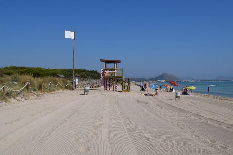 Пляжи Пальмы, Playa de Muro