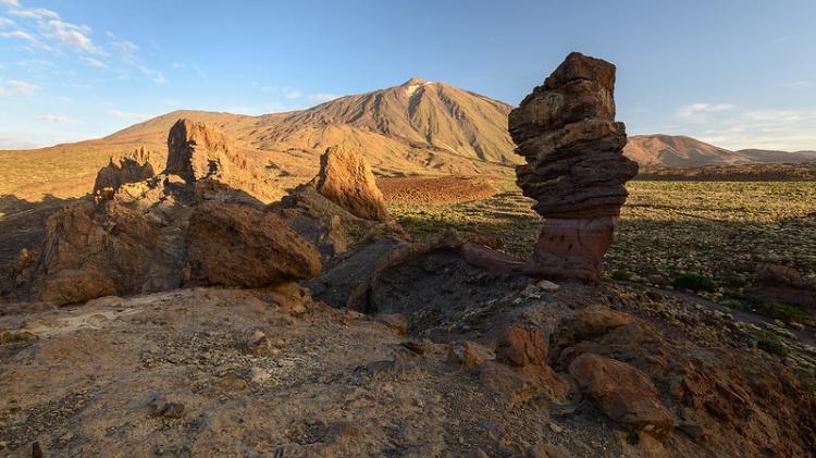 Достопримечательностей парка Тейде — камень Cinchado