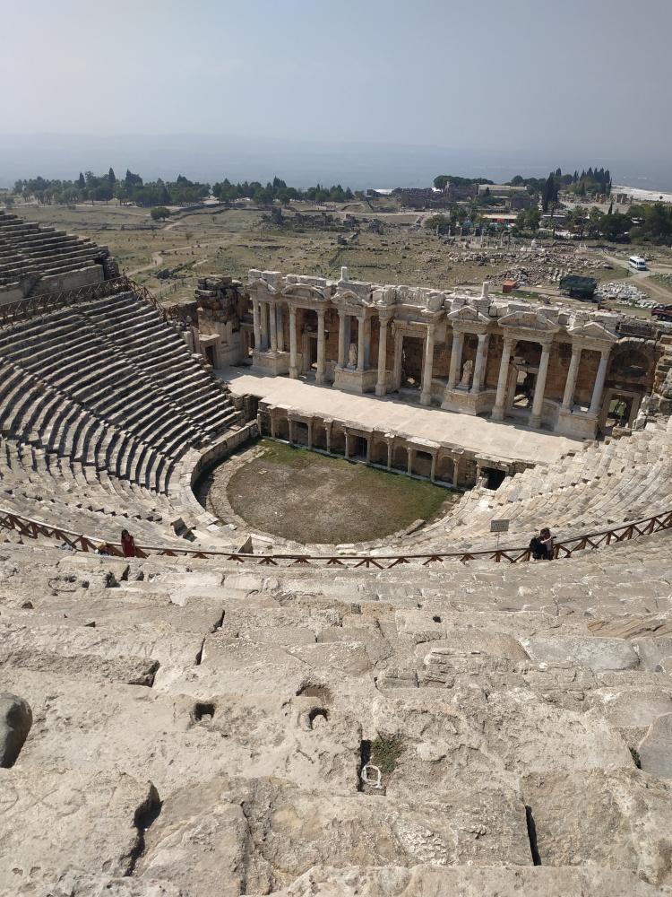 Иераполис Амфитеатр, Турция