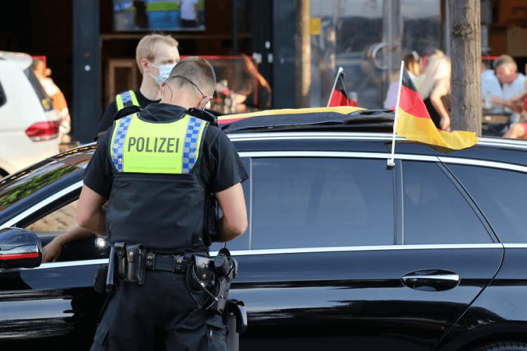 Штрафы за нарушения правил дорожнего движения в Германии