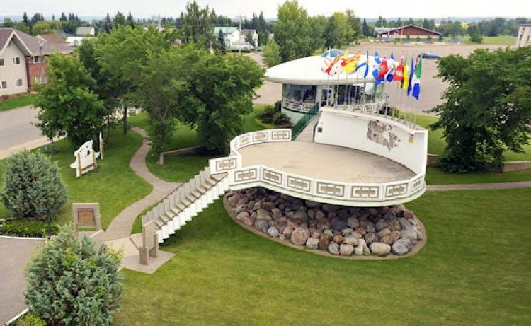 Посадочная площадка для НЛО в Канаде