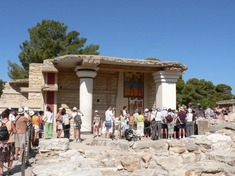 Территория Кносских раскопок, Крит