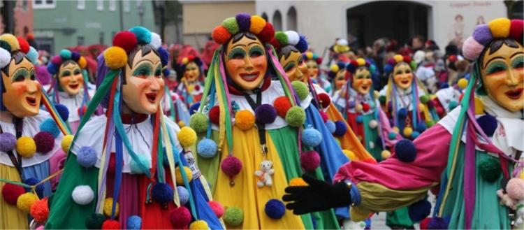 Фашинг карнавал в Германии