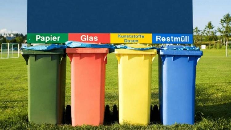 Раздельный сбор мусора в Германии