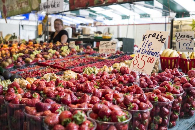 Рынок Atwater Market в Монреале