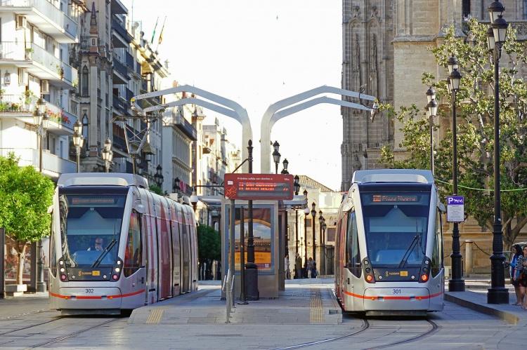 Трамваи в Севилье