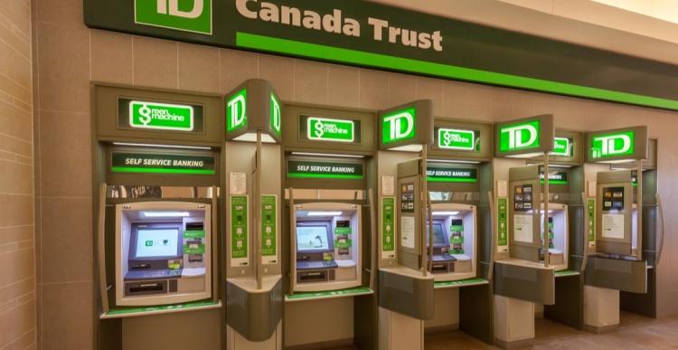 Банкоматы в Канаде