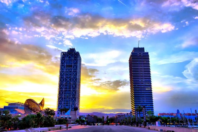 Порт Олимпик, Барселона, фото