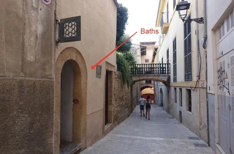 Арабские бани, Майорка, где находятся
