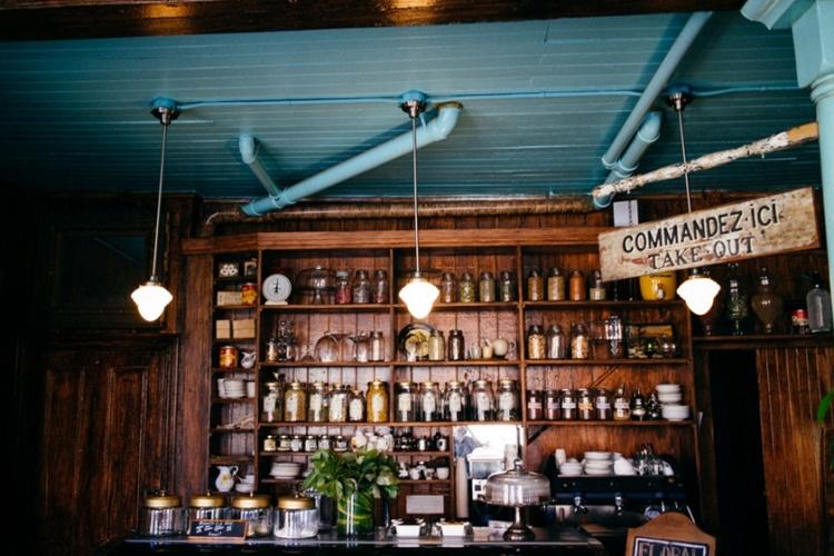 Кафе Epicerie Fleur Fuchsia в Монреале