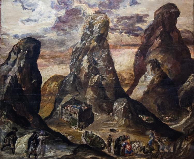 Картина Эль Греко в Историческом музее Ираклиона, Крит