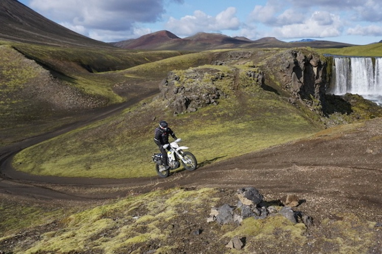 Аренда мотоцикла в Исландии