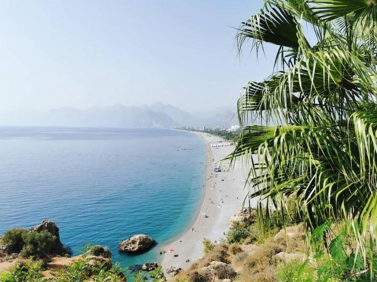 Пляж Коньяалты, Анталья, Турция