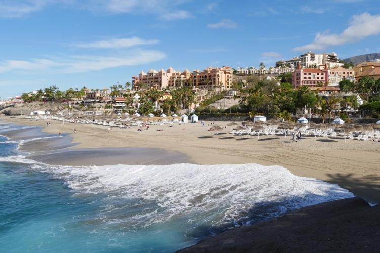 Городские пляжи Тенерифе, Плайя дель Дуке