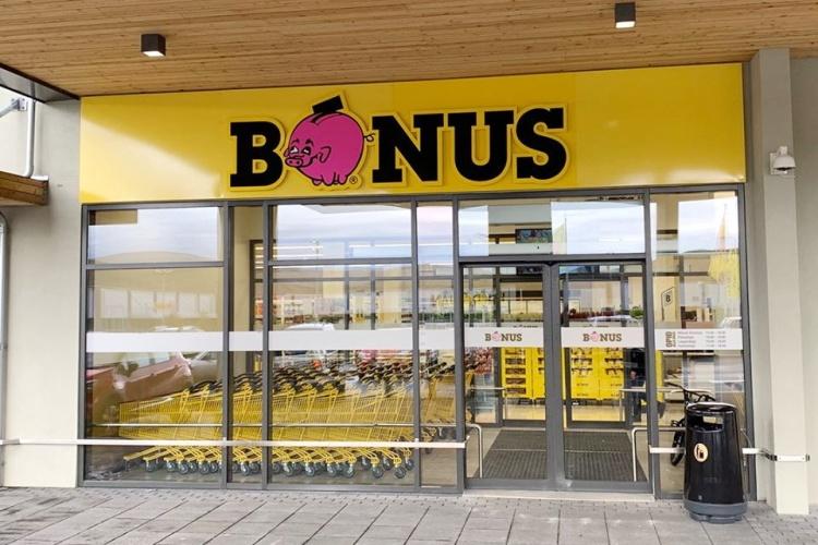 Сеть супермаркетов Бонус в Исландии
