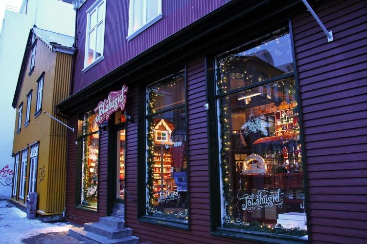Магазин рождественских подарков Jolahusid в Рейкьявике