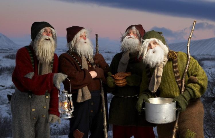 Исландские Деды Морозы