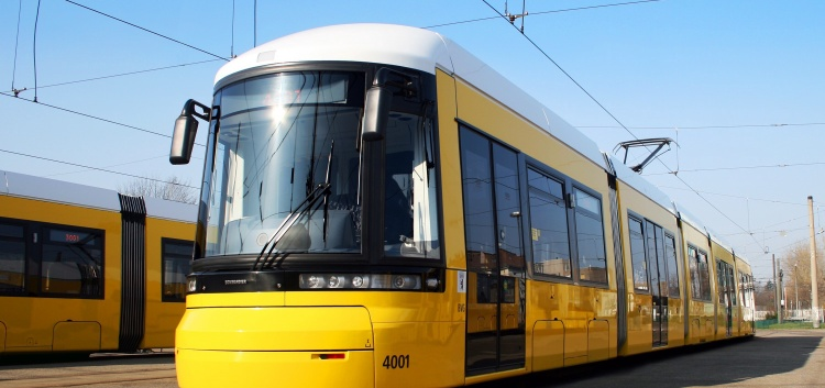 Как работает трамвай в Берлине