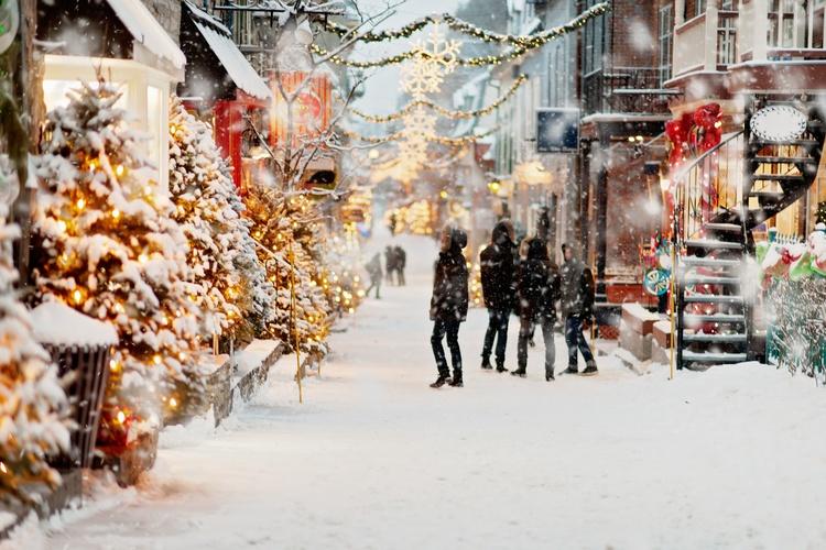 Декабрь в Канаде