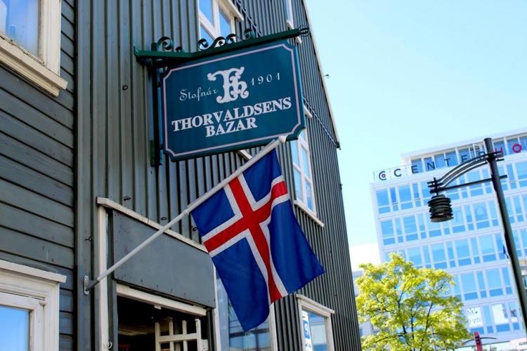 Сувенирный магазин Thorvaldsens Bazar в Рейкьявике