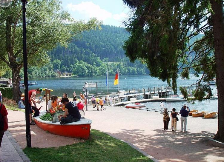 Отдых на озере в Германии