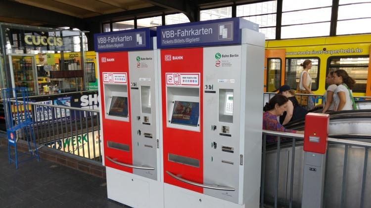 Автоматы для билетов в Берлине