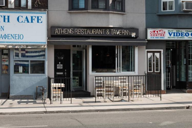 Athens Restaurant в Торонто