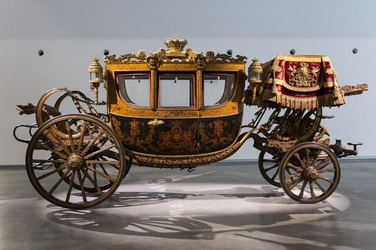 Карета короны в музее карет
