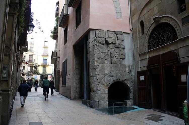 Музеи MUHBA в Барселоне, улица Регомир
