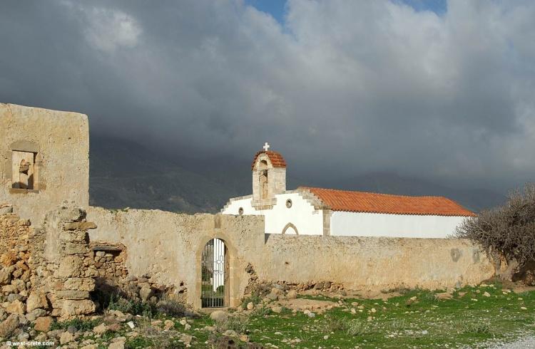 Монастырь Святого Хараламбо, Франгокастелло
