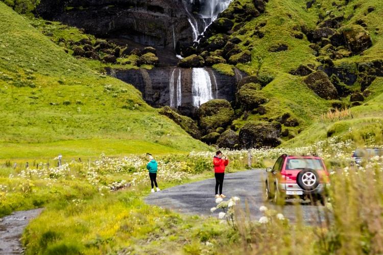 В Исландии с детьми