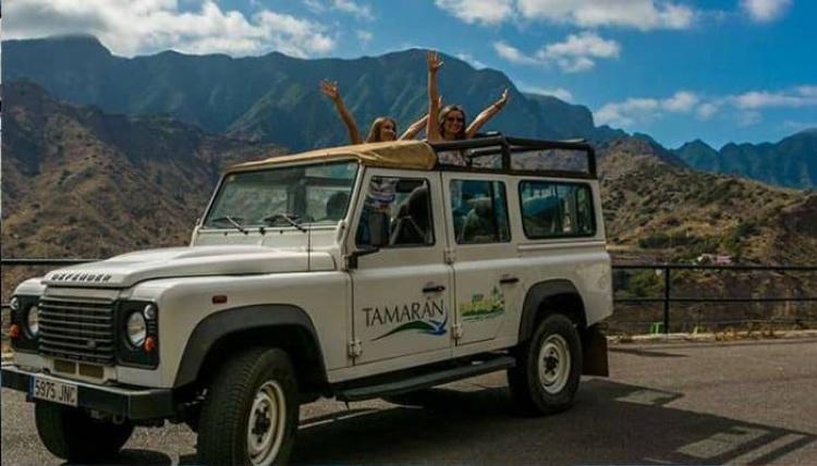 Сафари на джипах на Тенерифе