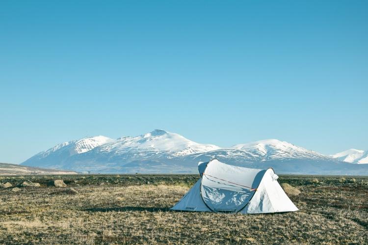 Палатка для путешествий по Исландии