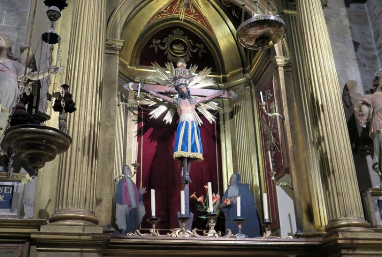 Собор Святой Евлалии, в базилике