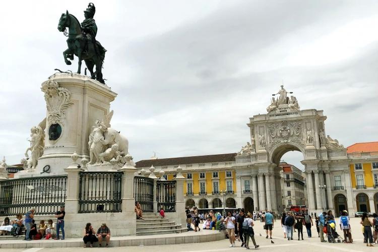 Дворцовая площадь, Лиссабон