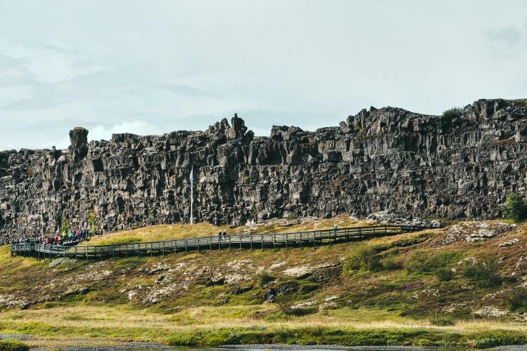 Национальный парк Тингведлир в Исландии