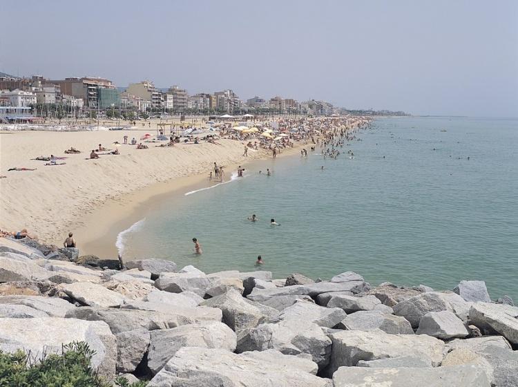 Пляж Ocata, Барселона