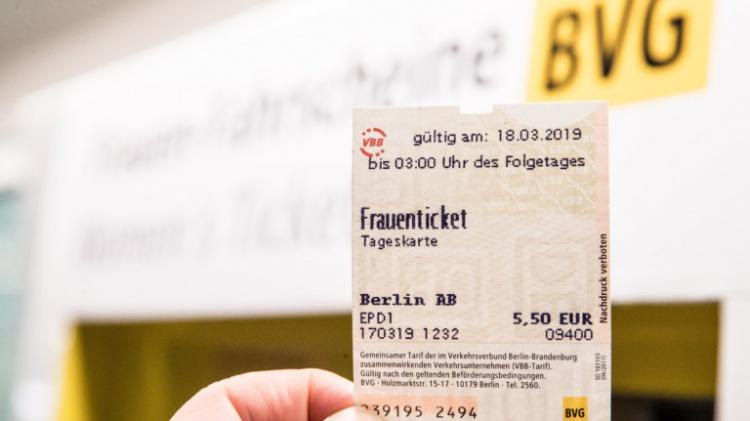 Tageskarte билет на один день в Берлине