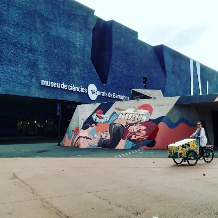 Синий Музей с Барселоне для детей