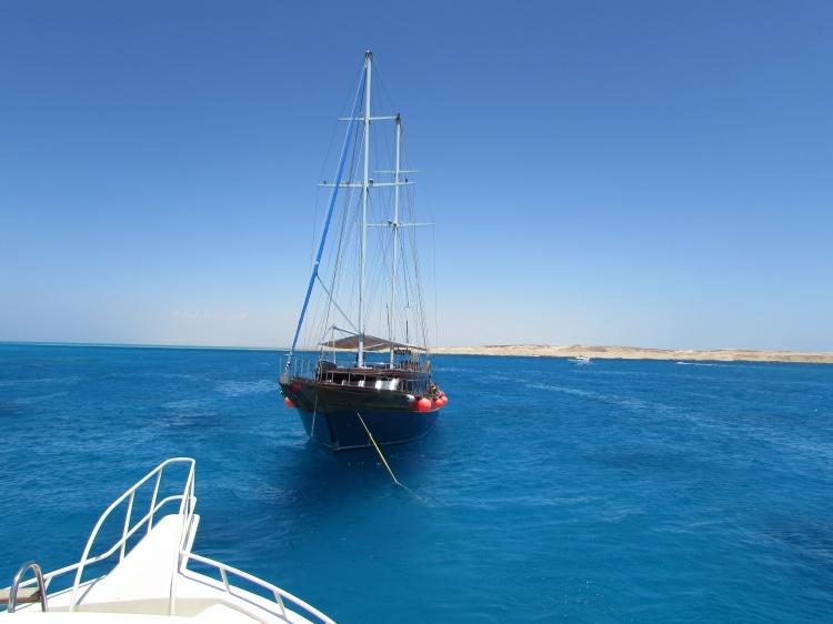 Прогулка на пиратском корабле, Египет