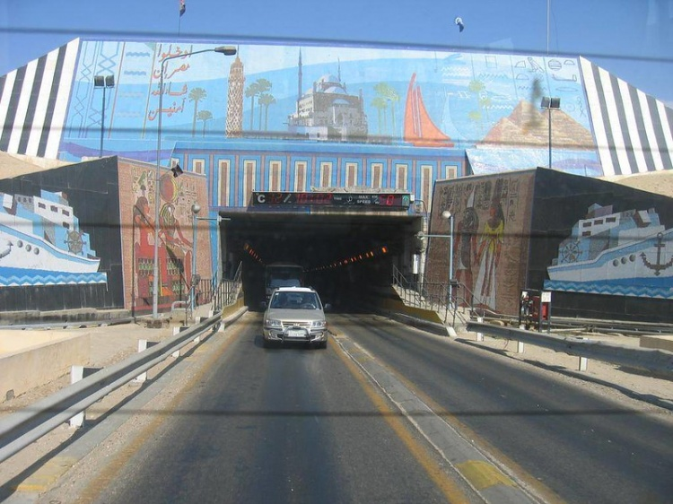 Платные дороги в Египте
