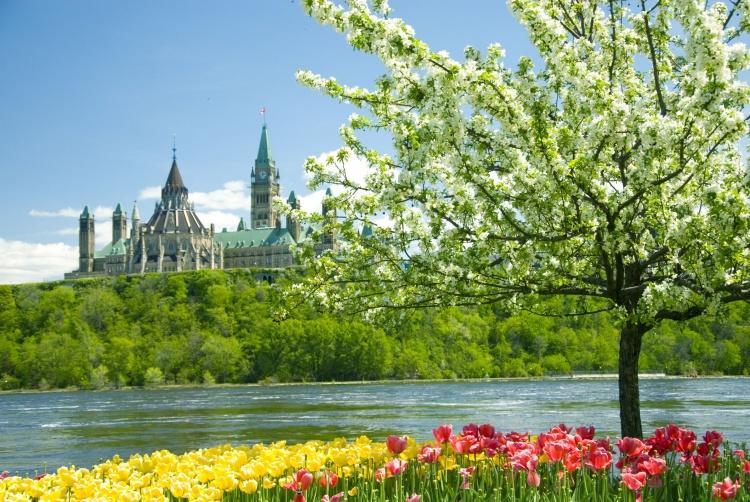 Весна в Канаде