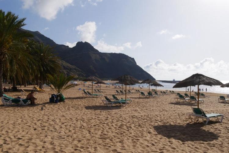 Пляжи с песком на Тенерифе, Лаc Тереситас