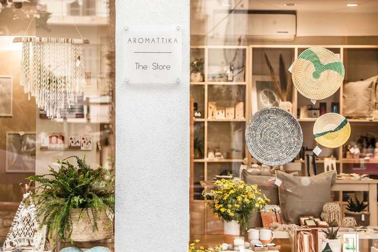Магазин сувениров на Крите