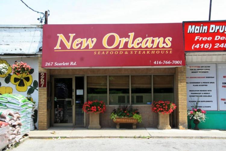New Orleans Seafood & Steakhouse в Торонто