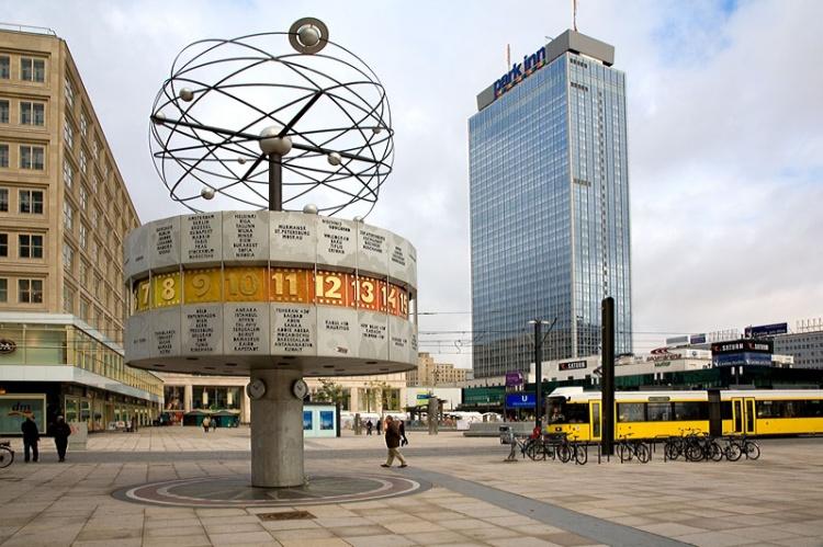 Александерплац в Берлине