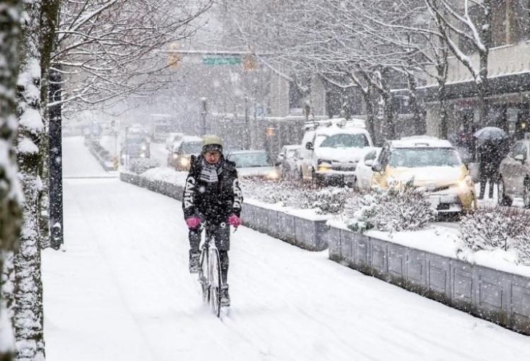 Зима в Канаде
